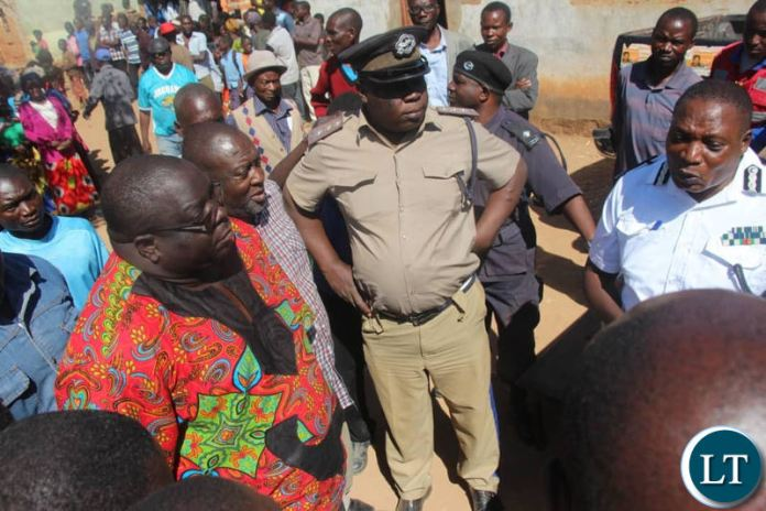 Police trying to reason with NDC officials