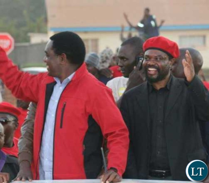 HH and Dr Canisius Banda on a campaign trail in 2016 elections