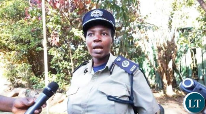 Copperbelt Police Commissioner Charity Katanga