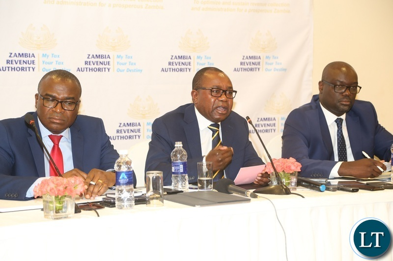 Zambia : ZRA exceeds revenue target of K44 7 billion for the 2018