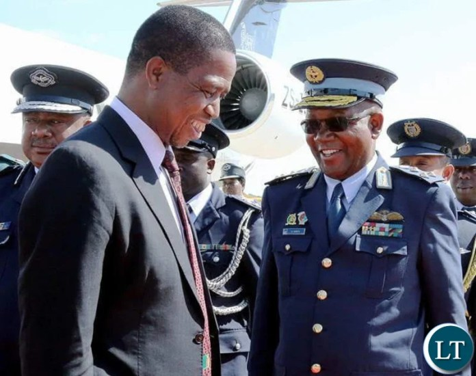 Zambia Air force Deputy Commander Major Gen. Kapotwe Chintu