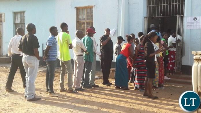 Voting Underway in Kafue District