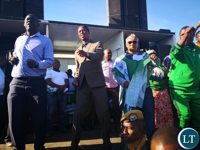 PF Campaigning in Kafue