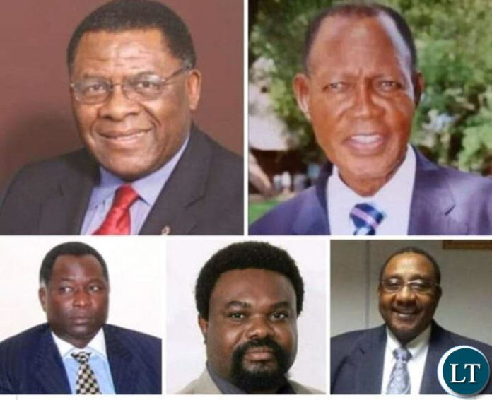 UPND past  Vice Presidents