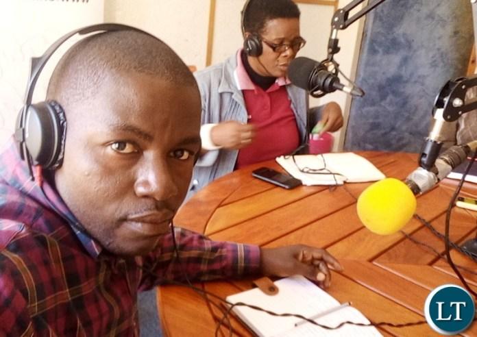 Monze Town Council Public Relations Officer Kanchele Kanchele