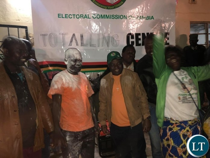 PF celebrating ward election Victory
