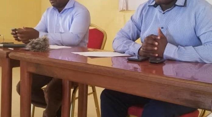 Media Briefing held by YALI in Kasama