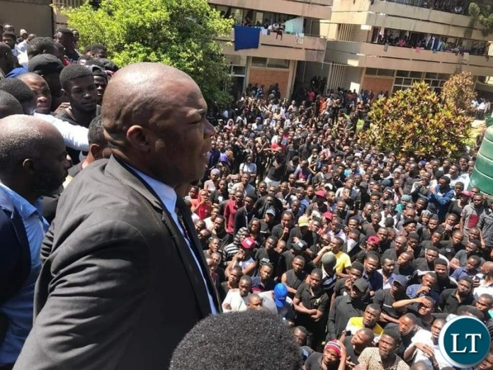 Intervene to Avoid Further Protests Says Lusambo