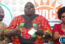 Opposition National Democratic Congress Leader Chishimba Kambwili