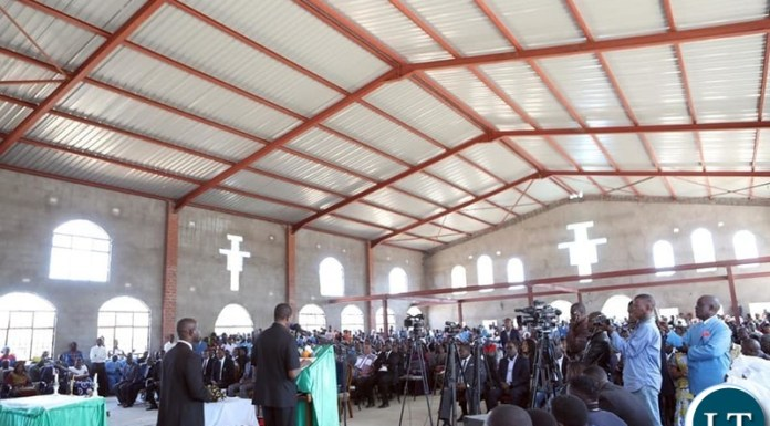 PRESIDENT LUNGU CALLS FOR SUPPORT TO CHURCHES