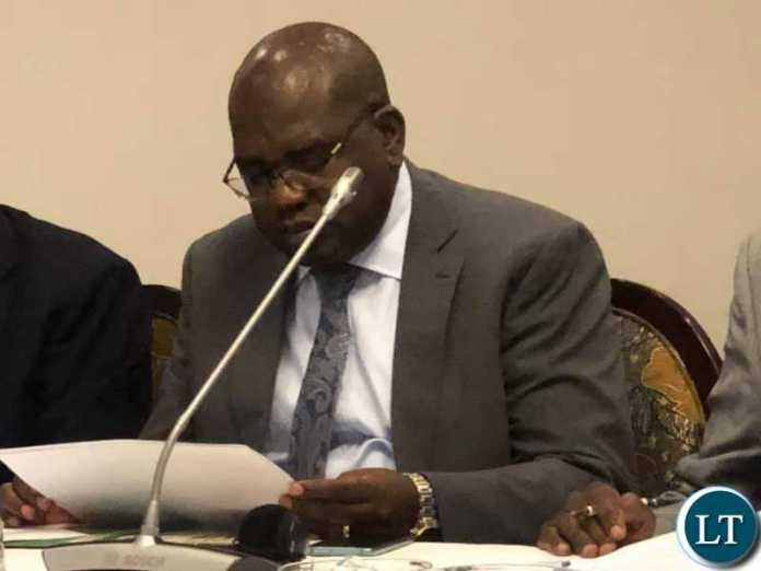 SPEECH BY THE MINISTER OF HEALTH, HONOURABLE, DR CHITALU CHILUFYA