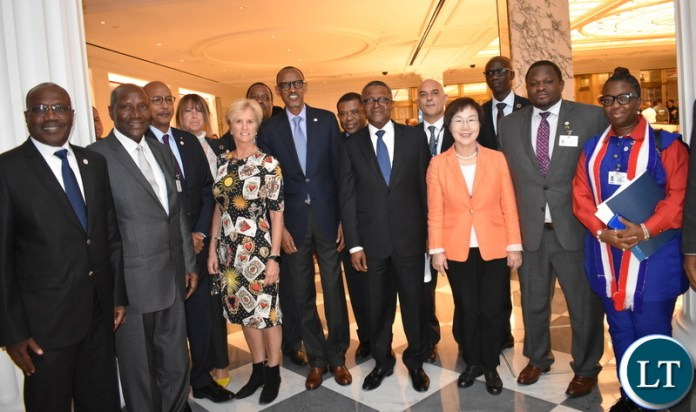 SDG Centre for Africa Board Members photo pose 25-09-2019