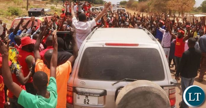 HH arriving in Kaoma on Monday afternoon