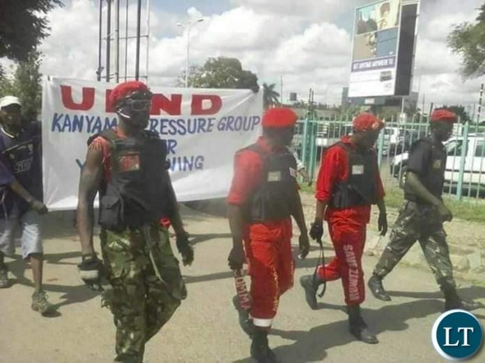 UPND cadres