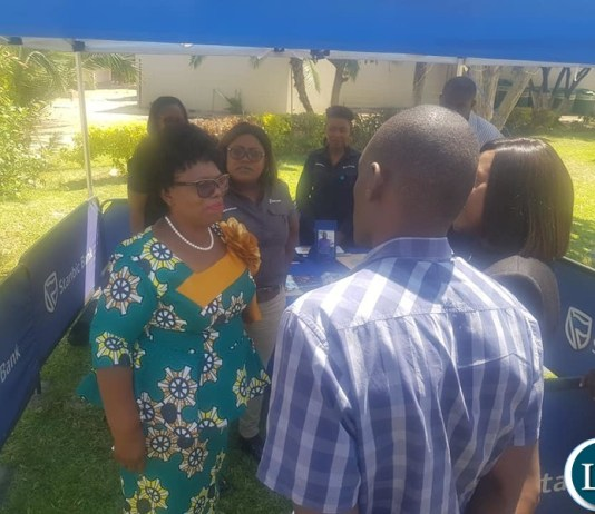 Minister of Fisheries and Livestock Hon Prof. Nkandu Luo MP yesterday graced the Cattle & Small Stock Management Information Day organized by the Herd Book Society of Zambia.
