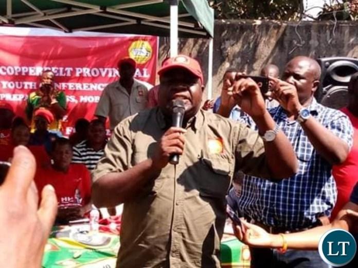 UPND Copperbelt Provincial Chairman Mr. Elisha MATAMBO