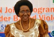 Vice President Mrs. Inonge Wina