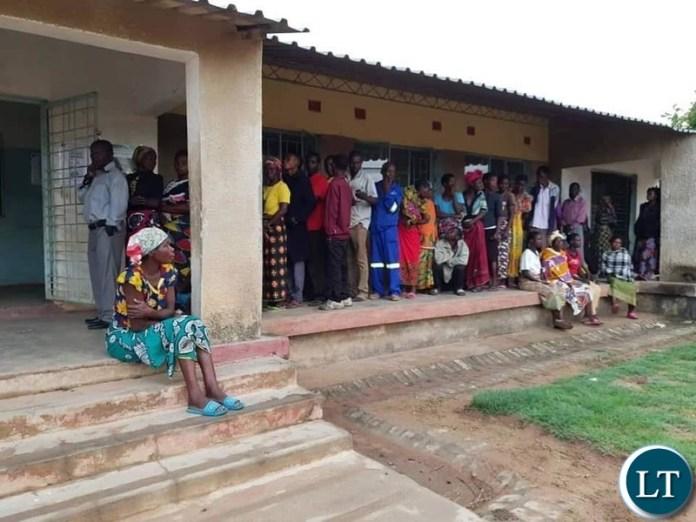 Kafwanka Polling station