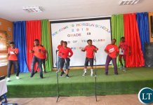 Horizon School Pupils celebrating end of year function