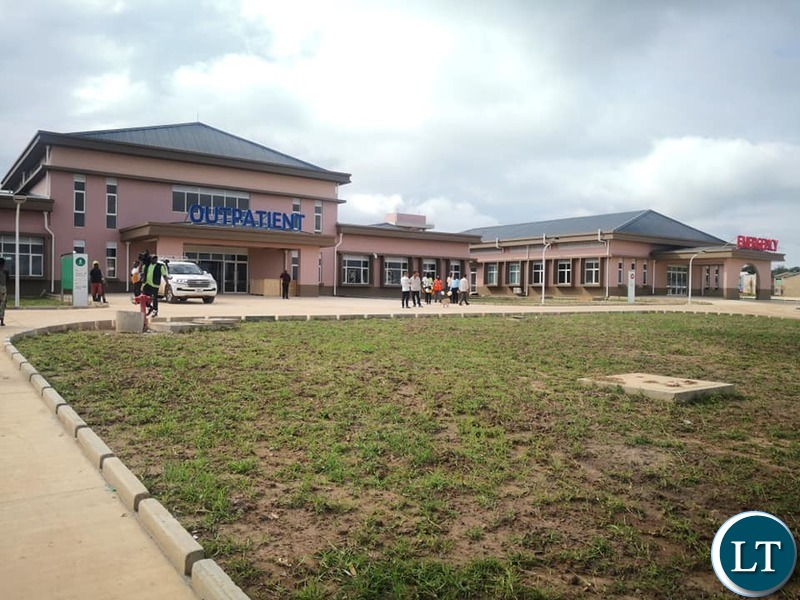 The Newly Constructed Chinsali General Hospital due to open in February