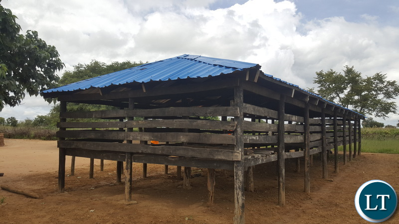 a poultry house in Hakunkula ward