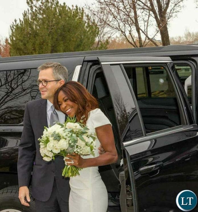Dambisa Moyo and  tied the knot with Jarred Smith