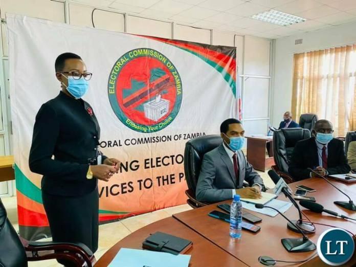 ECZ press briefing in Lusaka