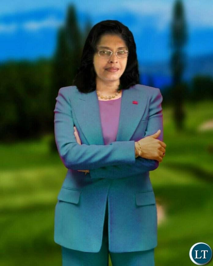 Patriotic Front Kitwe Mayoral aspirant Jaya Ashani