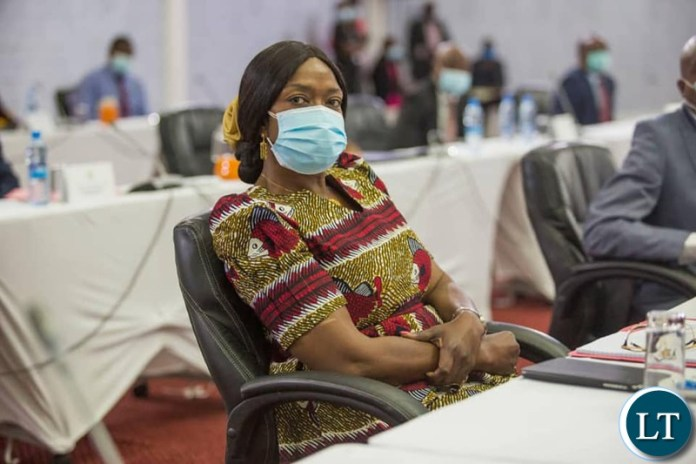 Minister of Health, Sylvia Masebo