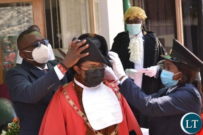Mayor of Kitwe Mpasa Mwaya