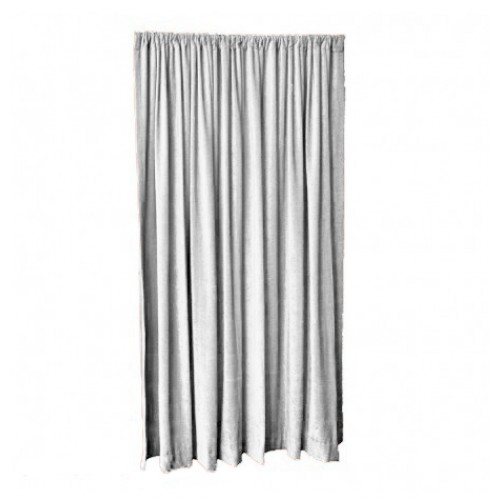 12 ft high fire rated velvet curtains w rod pocket top