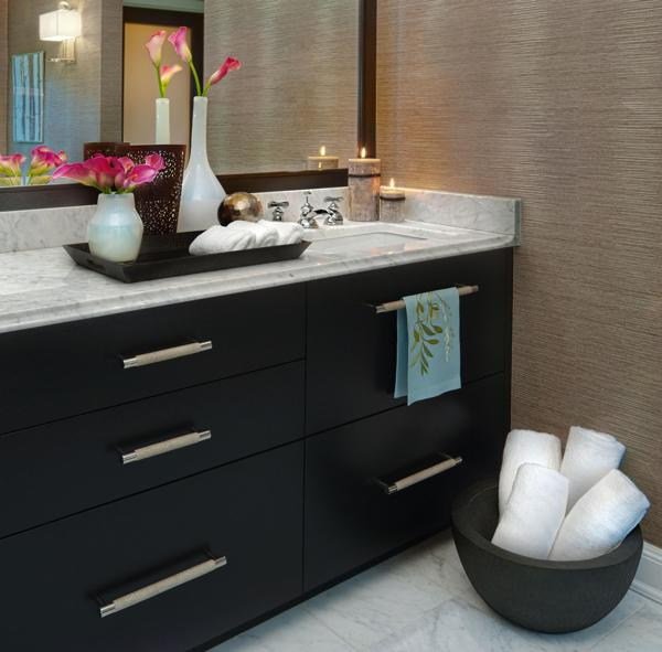 Bathroom Decorating in Blue Brown Colors  Chocolate Inspiration Small bathrooms  light blue and brown color schemes