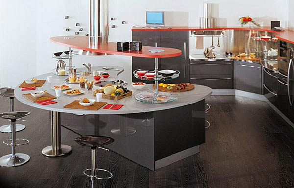 Contemporary Kitchens 5 Models Skyline From Snaidero