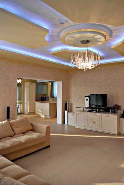 Modern Ceiling Designs With Hidden LED Lighting Fixtures