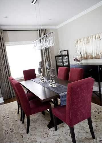 Good Feng Shui Tips For Your Dining Room Decorating Red