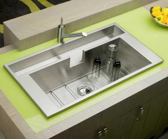 Modern Kitchen Sinks Adding Decorative Accents to ...