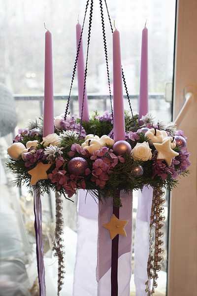 Novel Christmas Home Decoration Ideas Christmas Wreath Chandeliers