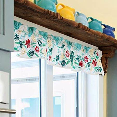 22 Creative Window Treatments And Summer Decorating Ideas