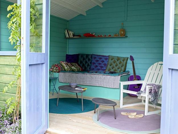 Small Garden House Design And Interior Decorating Ideas