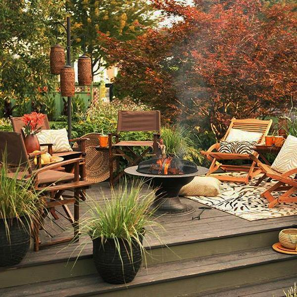 Cozy Fall Patio Decor Ideas Apple Wreaths Are Perfect For