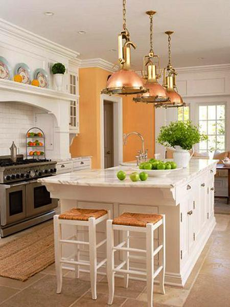 Orange Kitchen Colors 20 Modern Kitchen Design And