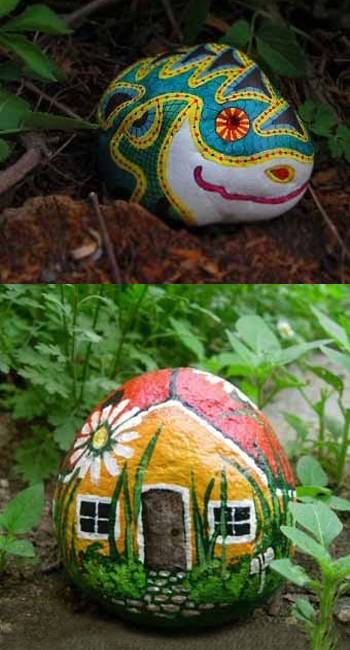 35 Ideas For Making Yard Decorations And Eco Gifts With
