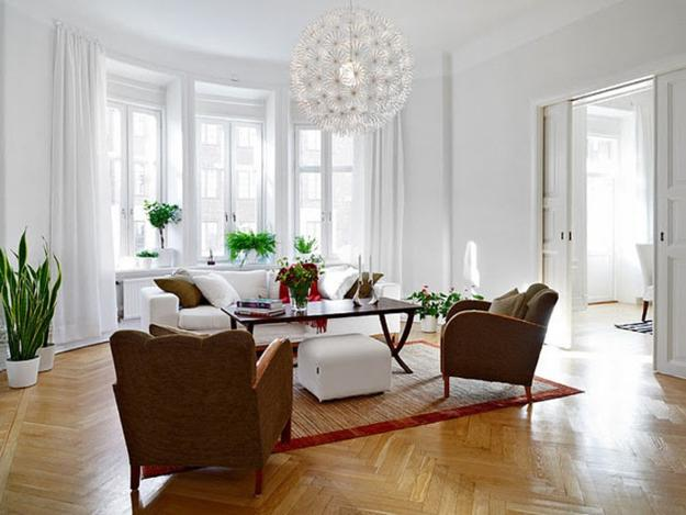 Low Maintenance Modern Interior Decorating With House Plants