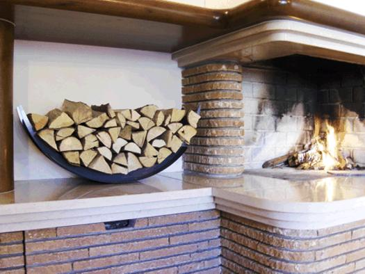 Modern Wood Storage Ideas For Outdoor And Interior Decorating