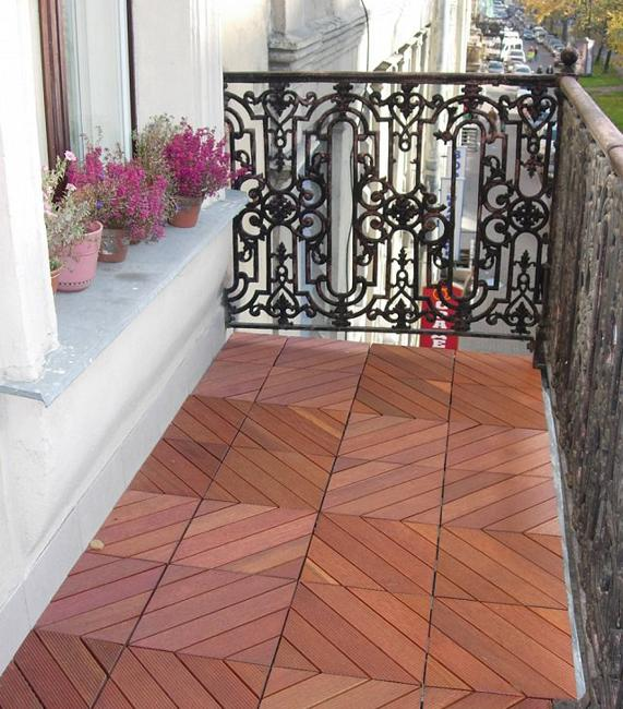 modern outdoor flooring ideas for