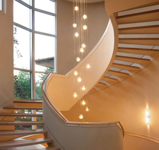 22 Creative And Modern Lighting Ideas For Staircase Design