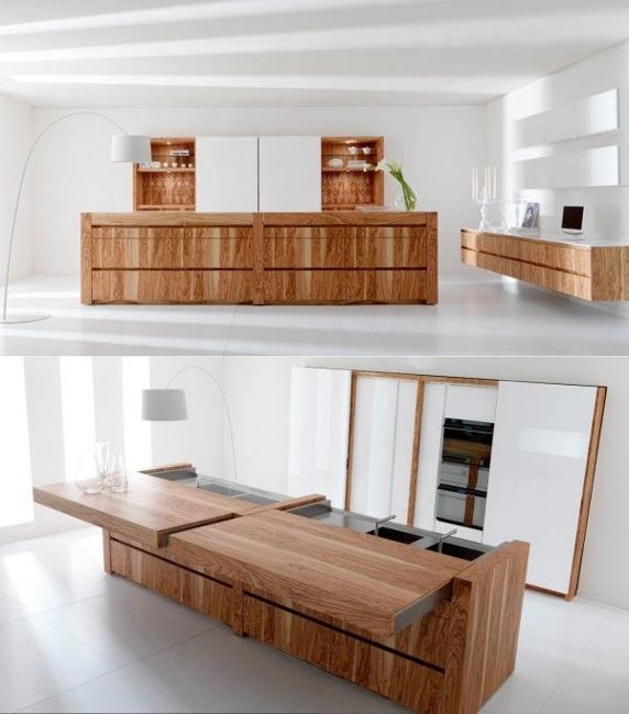 Amazing Wood Kitchen Countertop Ideas
