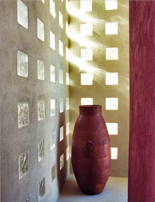 Glass Block Designs Of Exterior Walls Infusing Natural Light Into Modern Interiors