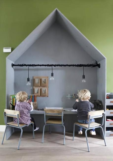 20 Shared Desk Ideas Kids Rooms With Study Space Designs