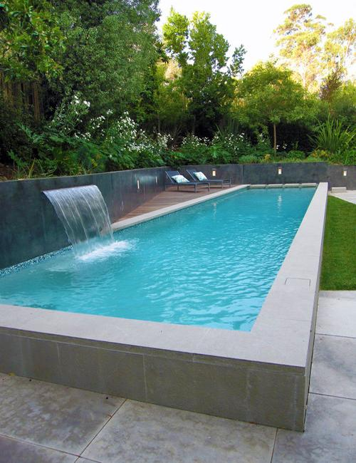 attractive above ground pool designs
